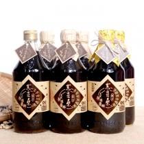 非基改靜釀醬油【黑豆桑】頂級新三寶組(金豆醬油x1+缸底醬油x3+黑金醬油x2)