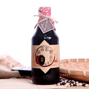 溫國智郁方推薦-美味非基改天然醬油【黑豆桑】天然極品養生紅麴醬油