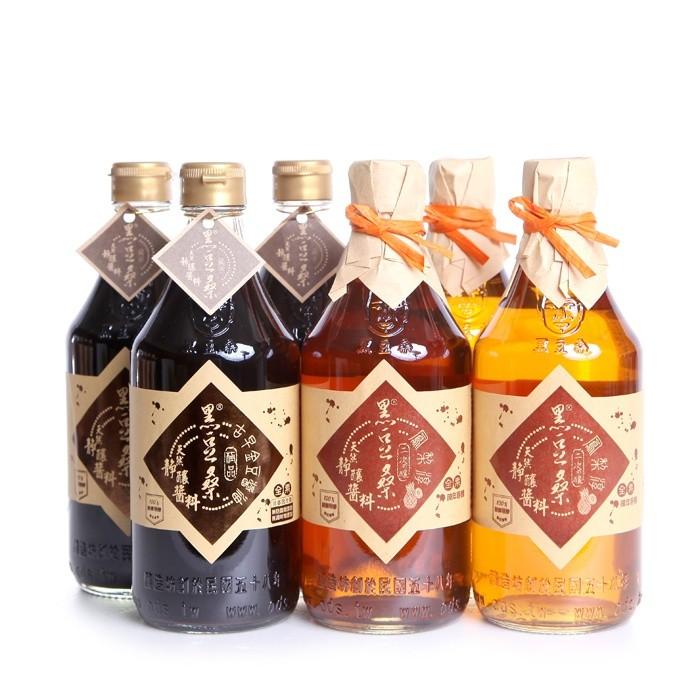 【黑豆桑】天然靜釀醬油|清爽夏日組(水果淳任選)