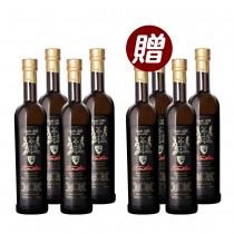 【黑豆桑】100%初榨冷壓頂級橄欖油4瓶 (贈橄欖油4瓶)