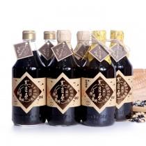 非基改醬油【黑豆桑】黑金剛醬油組(金豆醬油X2、缸底醬油X2、黑金醬油X2)