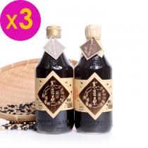 美食好簡單美味推薦-【黑豆桑】經典醬油組(金豆醬油x3、缸底醬油x3)