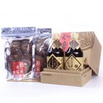 【黑豆桑】天然靜置釀造非基改有機醬油-禮輕情意禮盒組