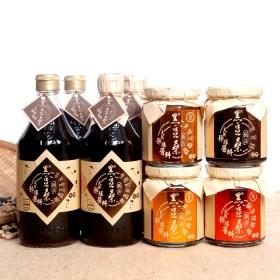 非基改天然靜置釀造醬油【黑豆桑】美味沾料組