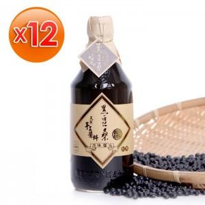 非基改靜釀醬油【黑豆桑】天然純釀原味醬油x12