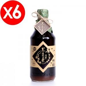 無麥麩非基改醬油【黑豆桑】天然極品頂級厚黑金醬油6瓶