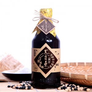 【黑豆桑】天然極品頂級黑金醬油(無麥麩)