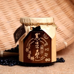 天然靜置釀造醬油醬料系列-【黑豆桑】醇釀極品純黑豆豉