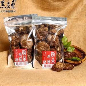 天然無毒美味香菇【黑豆桑】天然嚴選初朵冬菇2包