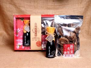 【黑豆桑】初朵冬菇醬香禮盒組(冬菇1+小醬油1(任選))